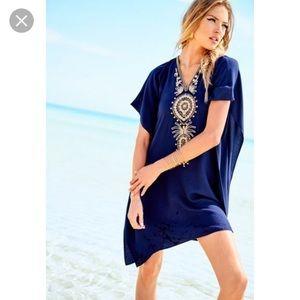 Lilly Pulitzer Chai V  Embellished Caftan Dress